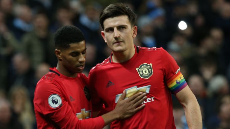 Harry Maguire is a long-time admirer of Marcus Rashford