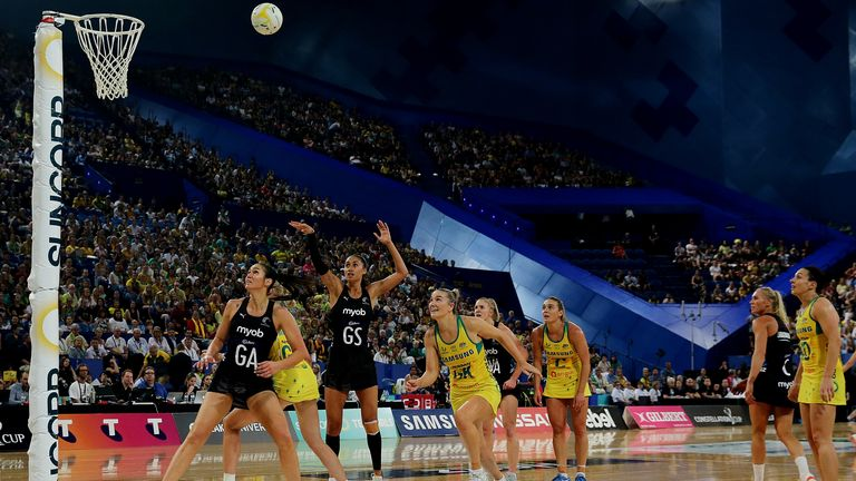 Her long-range style drove New Zealand forwards during her time on court