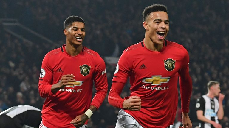 Mason Greenwood and Marcus Rashford have helped fill the void left by Romelu Lukaku's departure