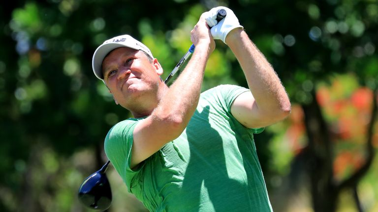 Jarmo Sandelin's victory secured him his maiden Staysure Tour title