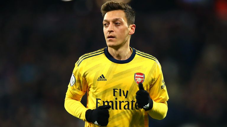 Mesut Ozil has criticised China over its alleged persecution of Uighur Muslims