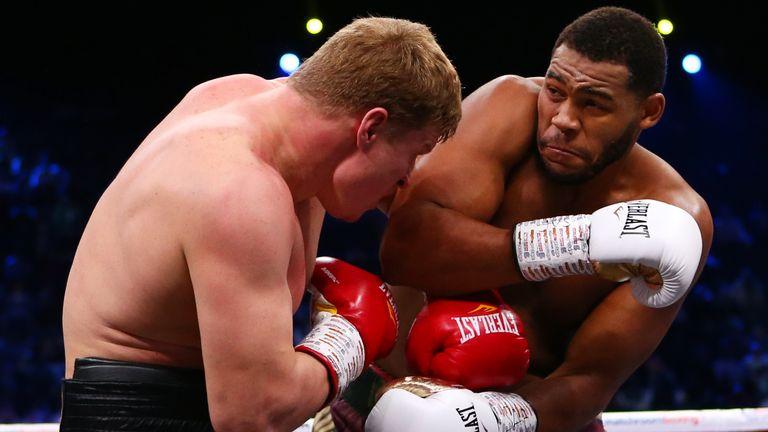 Alexander Povetkin v Michael Hunter, WBA World Heavyweight Final Eliminator, Diriyah, Saudi Arabia..7th December 2019..Picture By Dave Thompson .