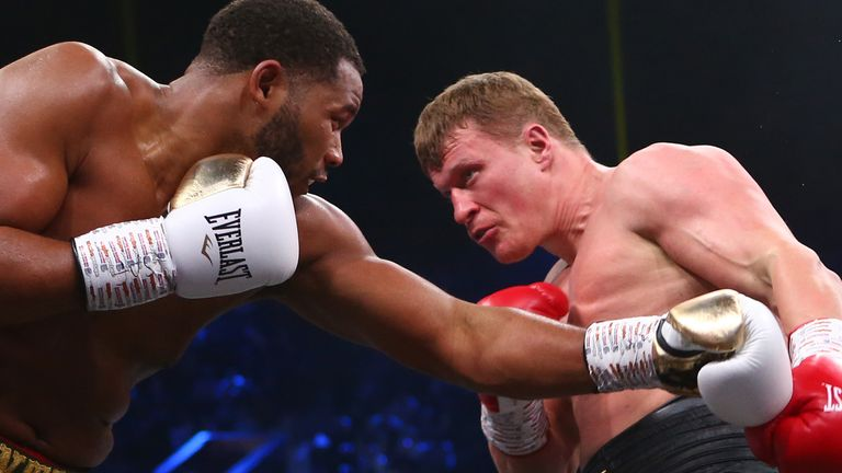 Alexander Povetkin v Michael Hunter, WBA World Heavyweight Final Eliminator, Diriyah, Saudi Arabia..7th December 2019..Picture By Dave Thompson .