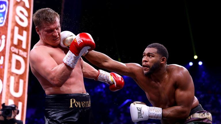 Michael Hunter and Alexander Povetkin on the Andy Ruiz Jr vs Anthony Joshua undercard in Saudi Arabia