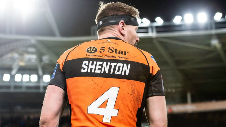 07/02/2019 - Rugby League - Betfred Super League - Hull FC v Castleford Tigers - KC Stadium, Kingston upon Hull, England - Castleford's Michael Shenton