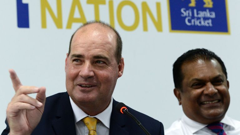 Mickey Arthur takes over as the head coach of Sri Lanka