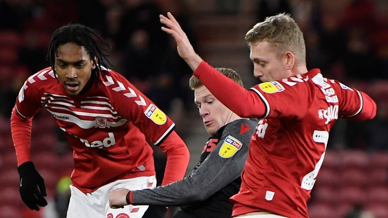 Middlesbrough pulled six points clear of the Championship relegation zone with victory over Stoke