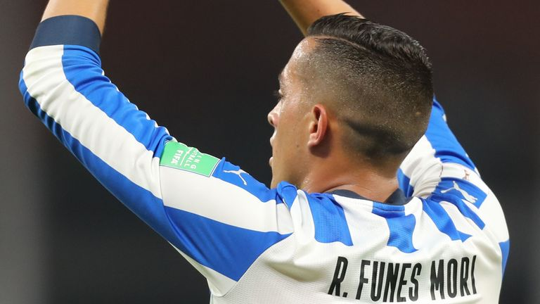 Rogelio Funes Mori scored his second goal in as many games at this year's Club World Cup