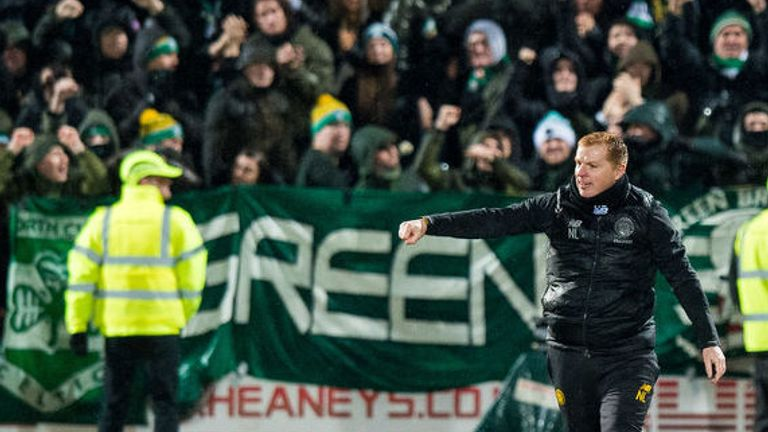 Neil Lennon's side have dropped only five points in the Scottish Premiership all season