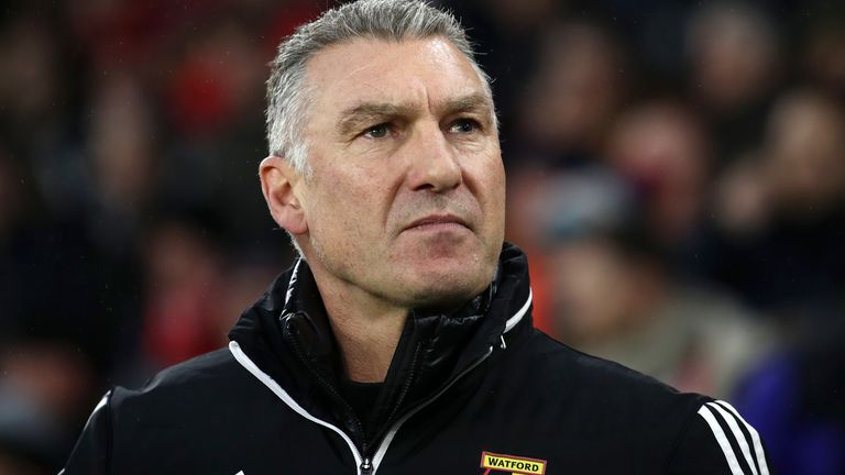 Nigel Pearson has led Watford to a resurgence in fortunes