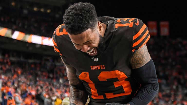 Beckham holding out hope Browns can be 'wildest wild card'