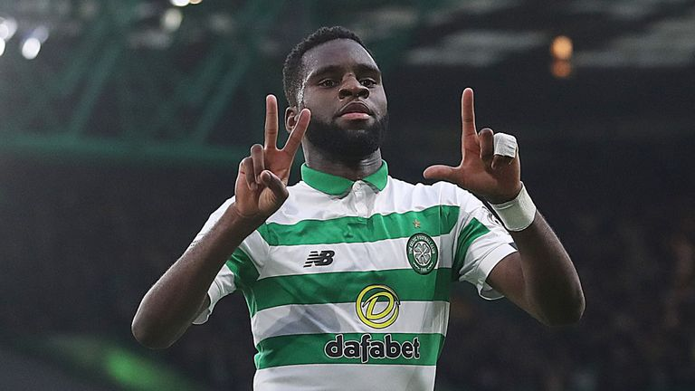 Odsonne Edouard  could miss the Betfred Cup final against Rangers on Sunday
