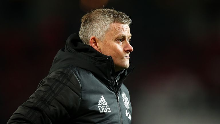 Manchester United are currently ninth in the Premier League under Solskjaer, eight points adrift of the top four