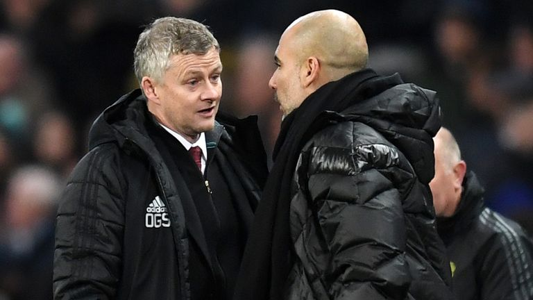 Pep Guardiola and Ole Gunnar Solskjaer give their reaction to alleged racist abuse in Saturday's Manchester derby
