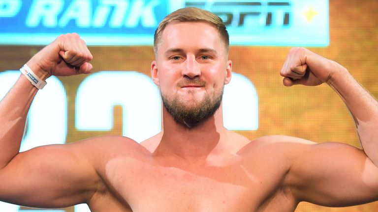 Otto Wallin is set to return following draw with Tyson Fury