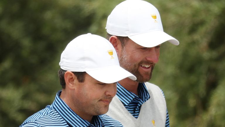 Reed and Simpson will team up again in the Saturday fourballs