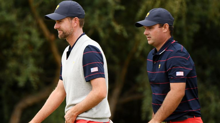 Webb Simpson and Reed have lost all three of their matches at Royal Melbourne
