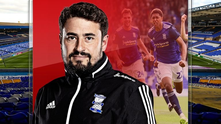 Birmingham City boss Pep Clotet is trying to change the philosophy at the club