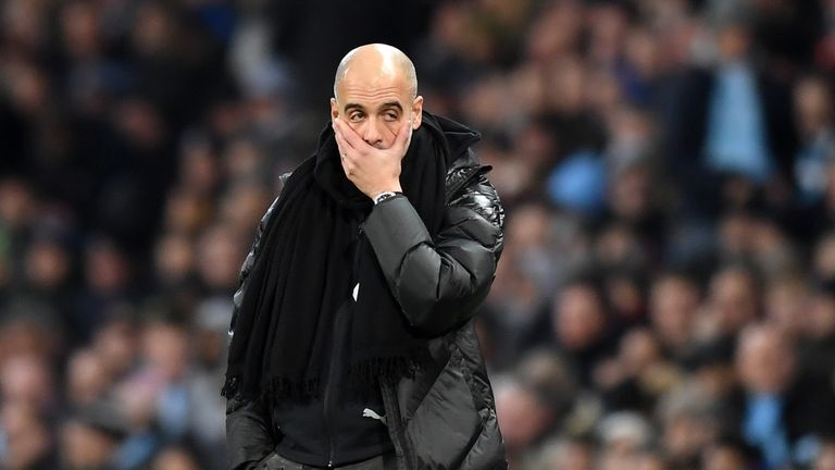 Manchester City have tough fixtures around their two Champions League ties