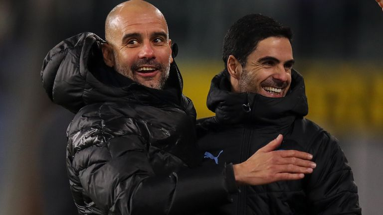 Mikel Arteta has been a success working under Pep Guardiola at Manchester City