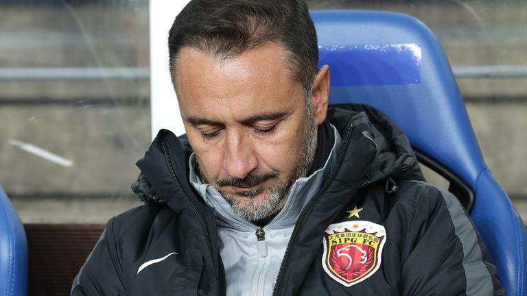 Vitor Pereira withdraws from manager shortlist