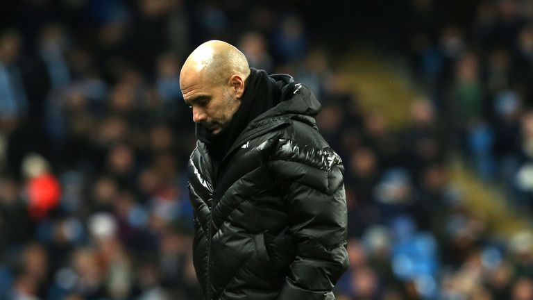 Manchester City suffered their fourth defeat of the season against Manchester United on Saturday