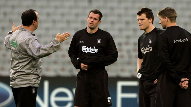 The Spaniard explains to Carragher how he looked to defeat AC Milan