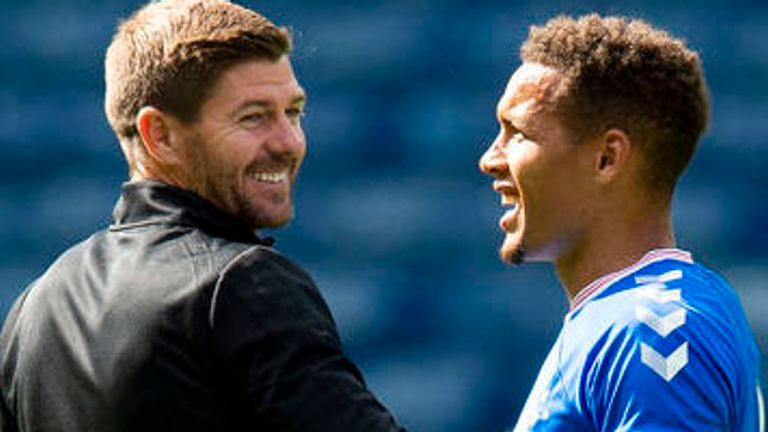 Gerrard confirmed Rangers will be without captain Tavernier for a couple of weeks
