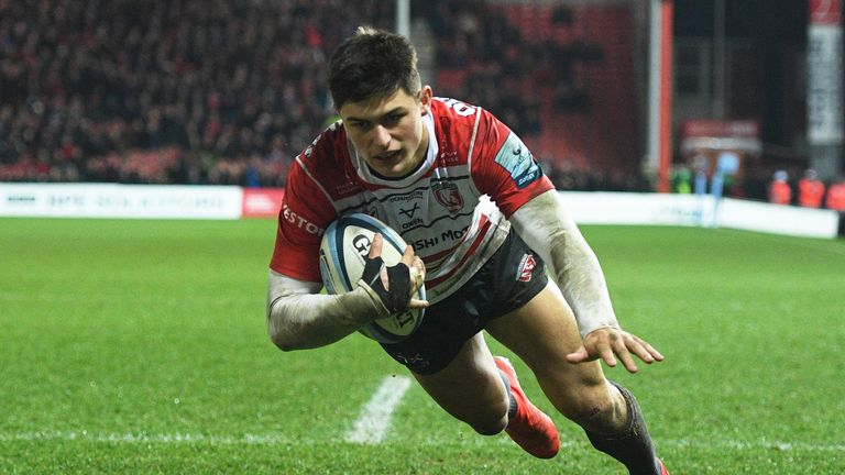 Gloucester's teenage wing Louis Rees-Zammit is among five uncapped players in Wales' 2020 Six Nations squad