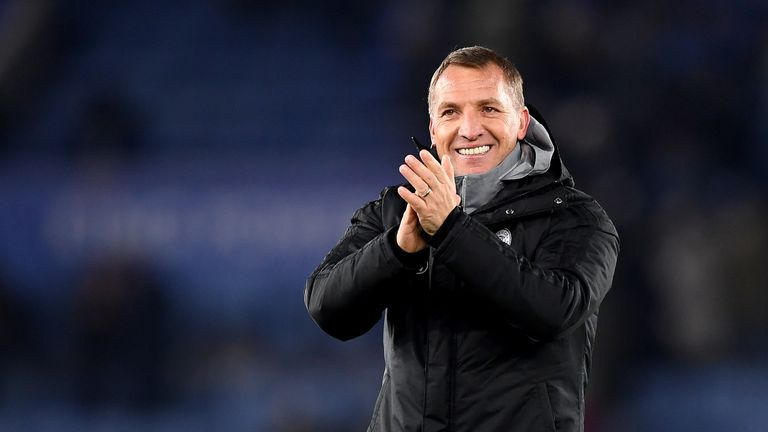Leicester are in great form under Brendan Rodgers this season
