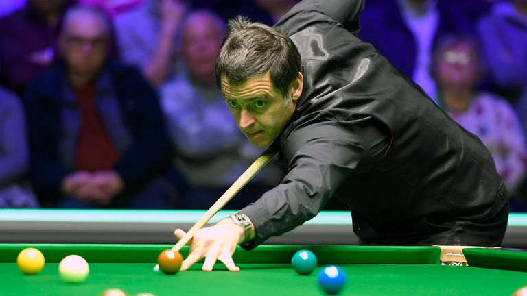 Ronnie O'Sullivan has taken solace from the recent countrywide lockdown