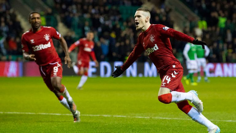 Ryan Kent gave Rangers the perfect start with his first shot