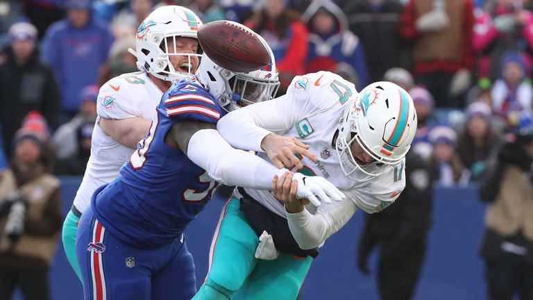 Tannehill did not have the best of times in his Miami days