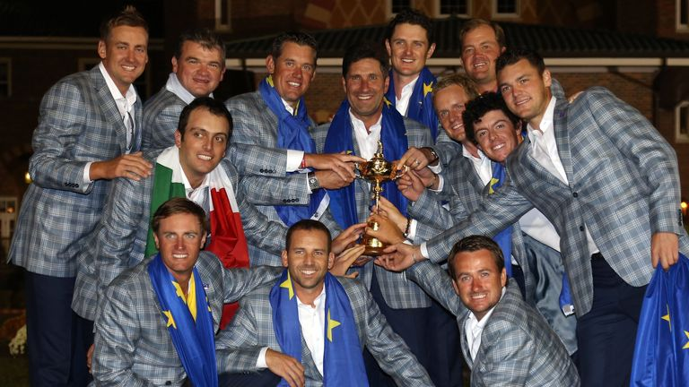 Butch Harmon did not expect to see Europe celebrating with the Ryder Cup on Sunday evening