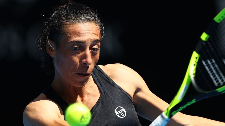 Former Tennis champion Francesca Schiavone defeats cancer