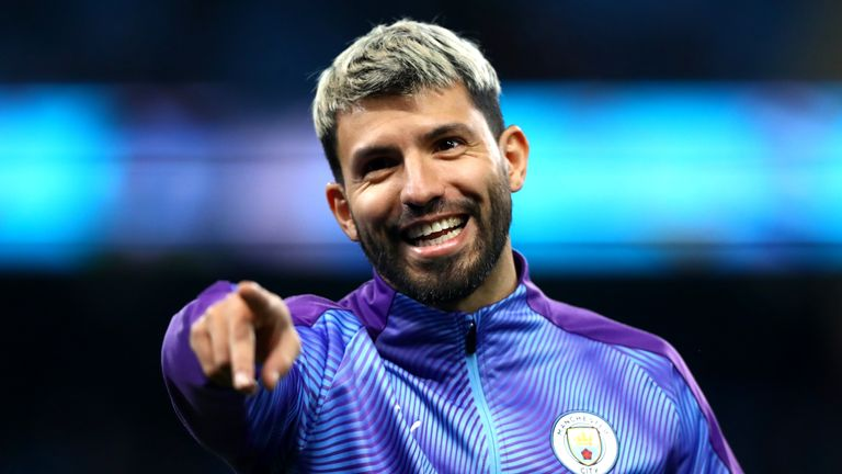 Manchester City striker Sergio Aguero is closing in on a return to full fitness