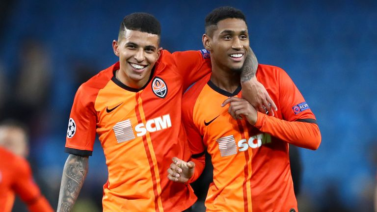 Shakhtar Donetsk are in pole position to finish as runners-up in Group C