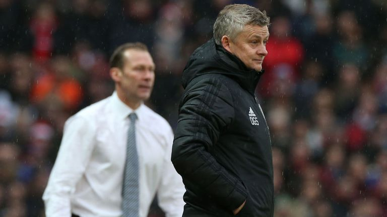 Ole Gunnar Solskjaer was disappointed that Manchester United failed to beat Everton