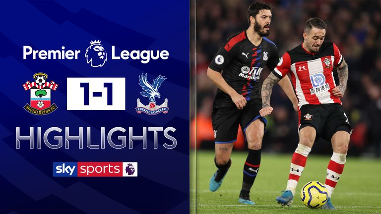 Southampton v Palace Highlights