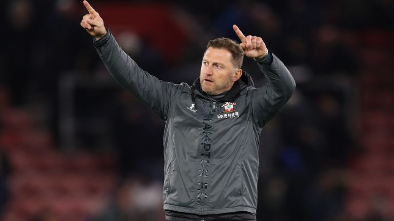 Ralph Hasenhuttl has seen an upturn in Southampton's fortunes since their 9-0 defeat to Leicester City