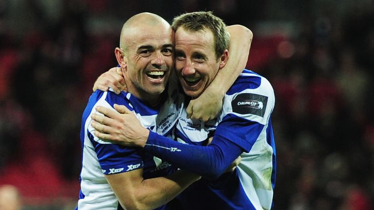 Bowyer was part of Birmingham's side that won the League Cup in 2011