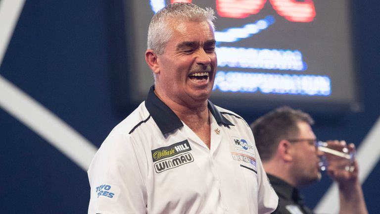 Steve Beaton has been rolling back the years at the World Darts Championship