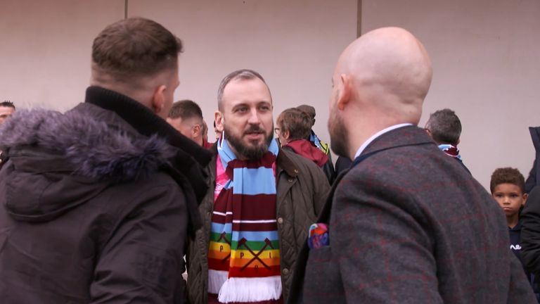 Jim Dolan says fan groups like Pride of Irons are helping to ensure LGBT supporters feel welcome at stadiums