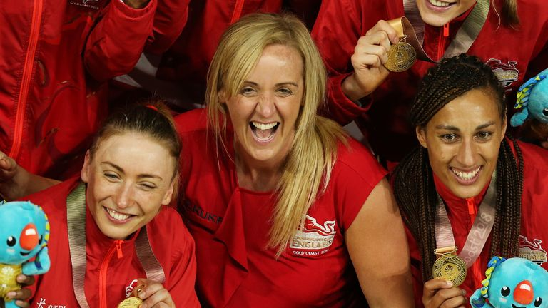 Tracey Neville helped bring netball to the public attention as England head coach