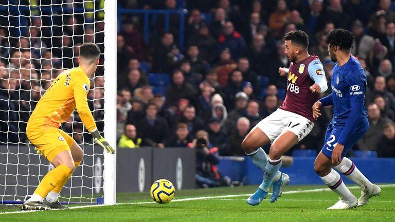Trezeguet equalises at Stamford Bridge