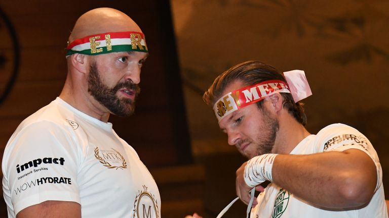 Tyson Fury and Ben Davison amicably split after working together for five fights
