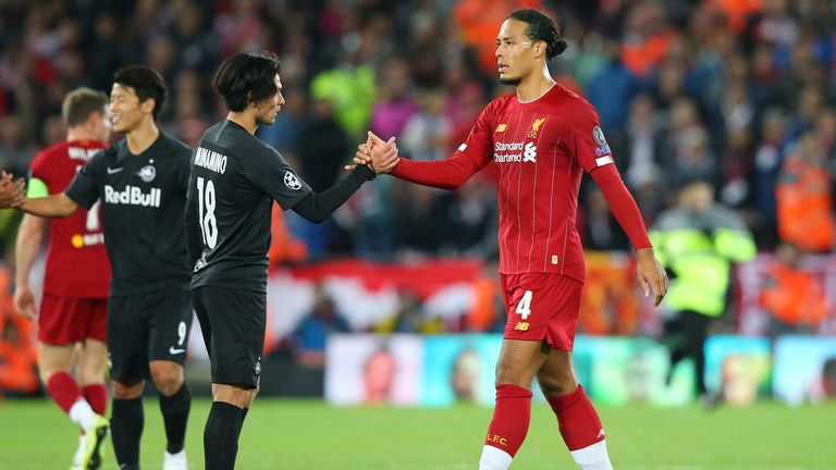 Minamino is expected to join Virgil van Dijk at liverpool on January 1
