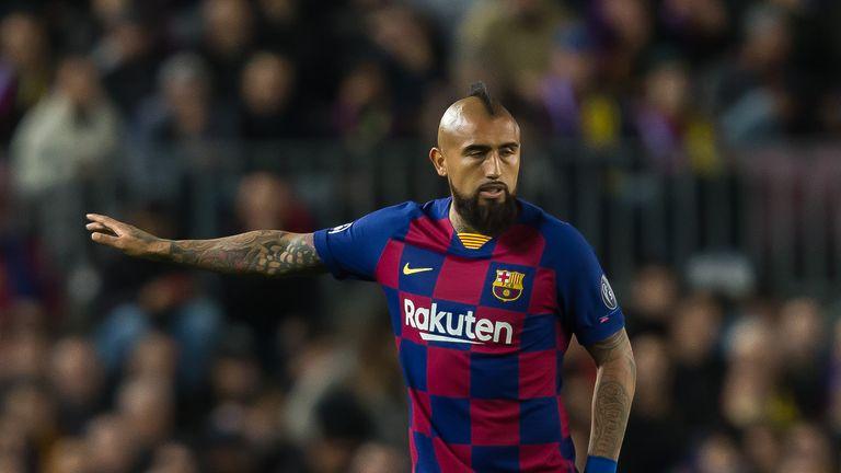Arturo Vidal has started only three La Liga games this season
