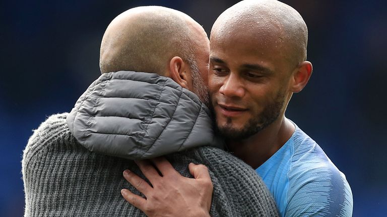 Vincent Kompany joined Manchester City from Hamburg in 2008