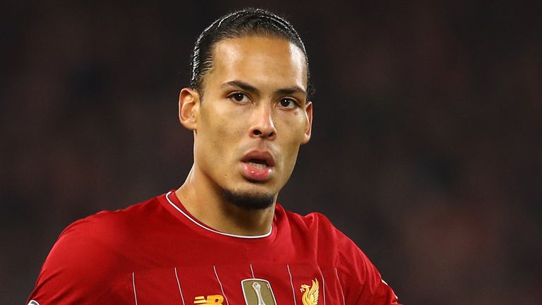 Virgil van Dijk has played in every Premier League game for Liverpool this season